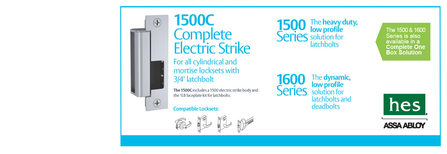 HES 1500c Complete Electric Strike