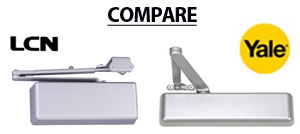 Compare LCN and YALE Door Closers