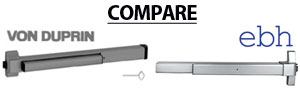 Compare VON DUPRIN and EBH Door Closers