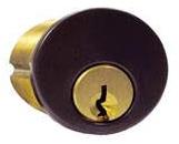 GMS Black Mortise Cylinders