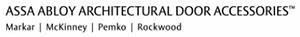 ASSA ABLOY Architectural Door Accessories Markar, McKinney, Pemko, Rockwood Logo